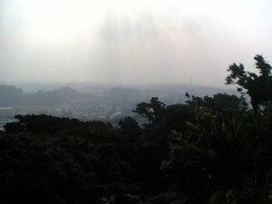 霧?靄(もや)?