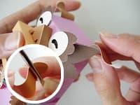 ミニシーサー:さんしんの作り方10