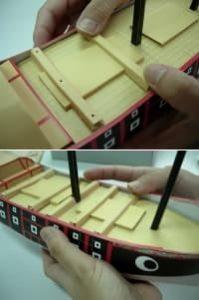 進貢船の作り方44
