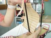 進貢船の作り方48